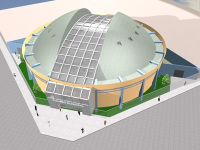 نقشه استادیوم فوتبال + 3D