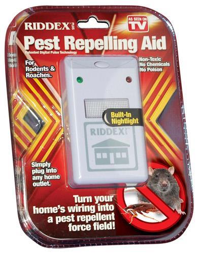 دستگاه دفع کننده حشرات ریدکس پلاس اولتراسونیک Riddex plus